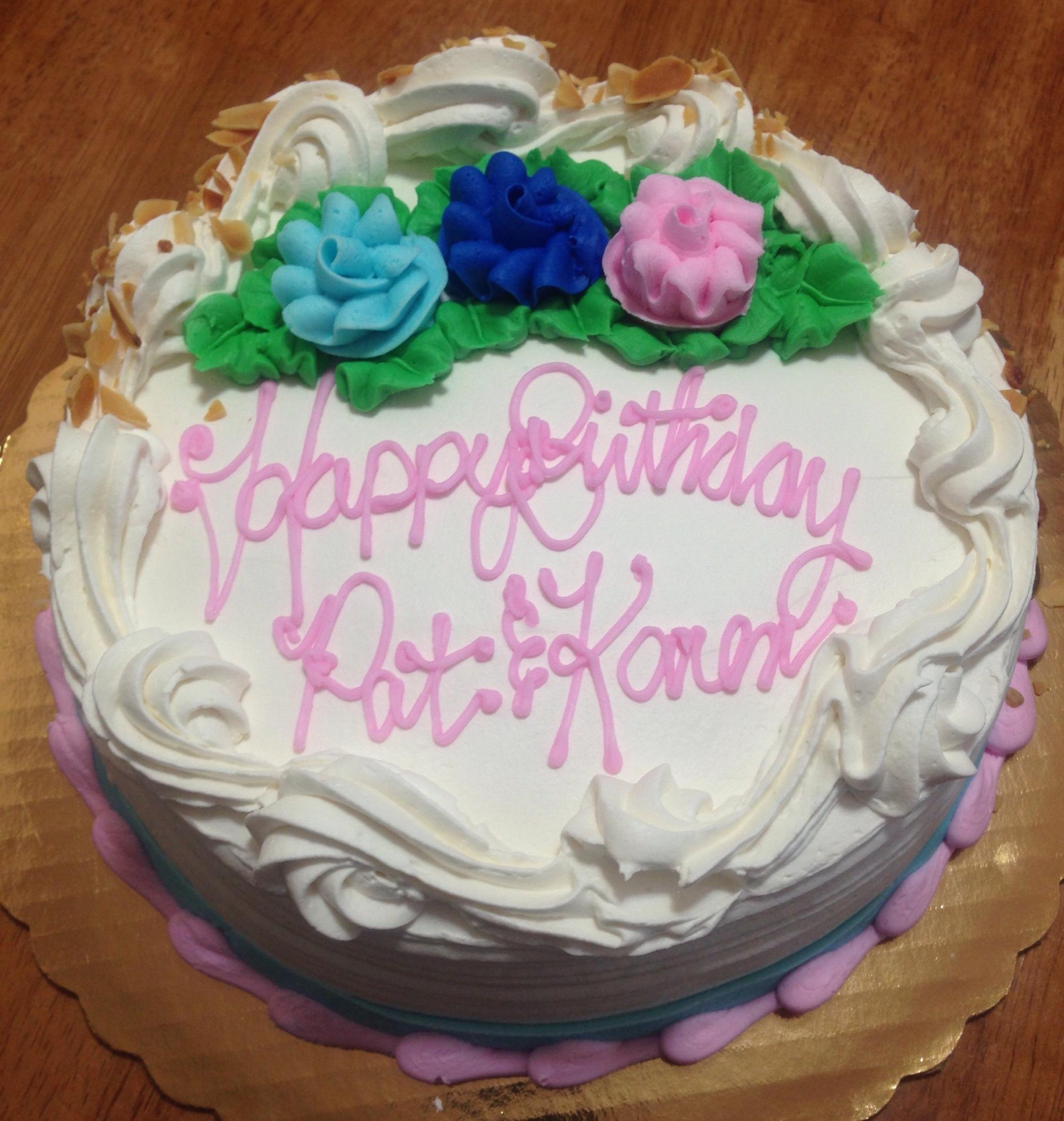 Italian Birthday Cake 2015 Km Creamer Author