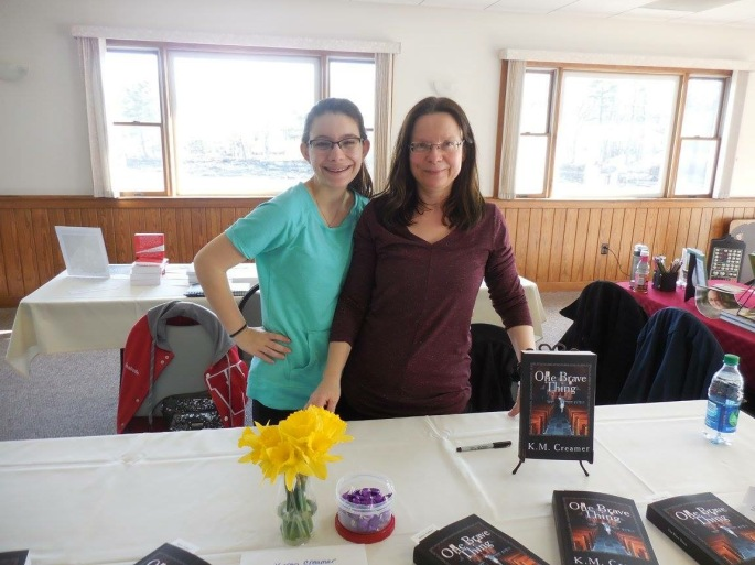 Izzy and Me at NE Authors Expo