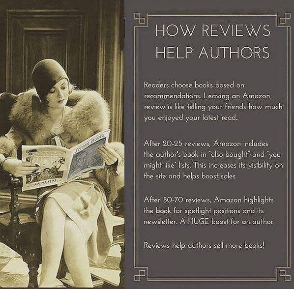 how amazon reviews help authors