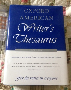 writers thesaurus