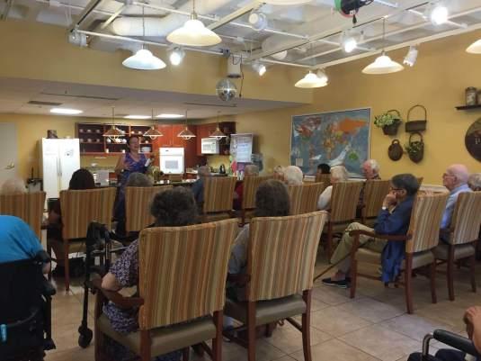 Neville author talk, photo by Joanne Nolan